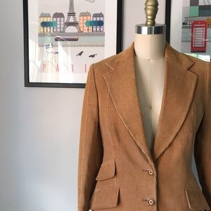 Vintage • Hot To Trot Cord Blazer